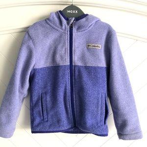 Columbia Kids Fleece Hoodie Jacket